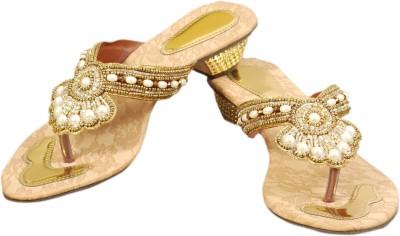 Styleon India Women Gold Heels