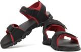 High Sierra Men Red , Black Sandals