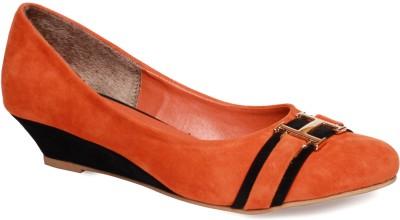 La Zilver Women Orange Flats