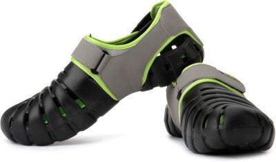 Globalite Parko IV Men Black, Green Sandals