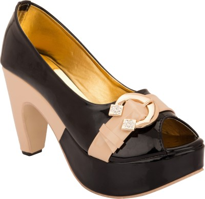 Cute Fashion Girls Black Sandals