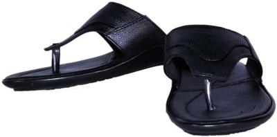 SSF Men Black Sandals