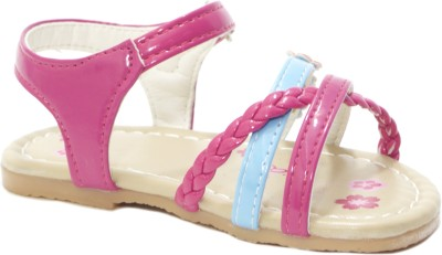 Small Toes Baby Girls Pink Flats