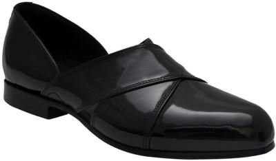 Bxxy Patent Leather Men Black Sandals
