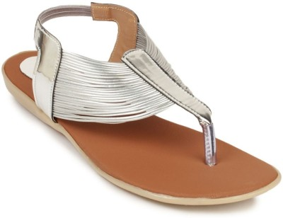 ADDO Women Silver Flats