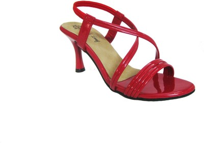 Mapple Leeaf Women Red Heels