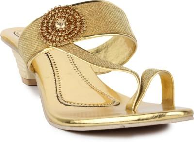 Star Style Women Gold Heels