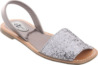 Claude Lorrain Women Silver Flats