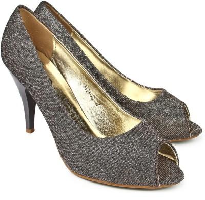 Jove Women Grey Heels