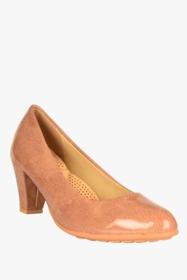 SOLE TO SOUL Women Brown Heels
