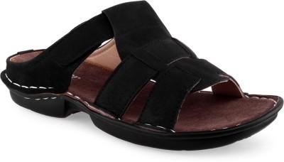 Recur Men Black Sandals