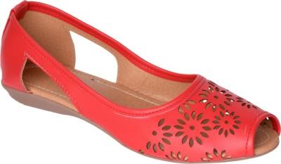 Stepee Women Red Flats