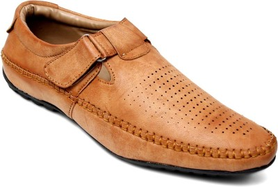 Peponi Men Camel Sandals