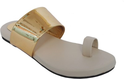 Clever Steps Women Beige Flats
