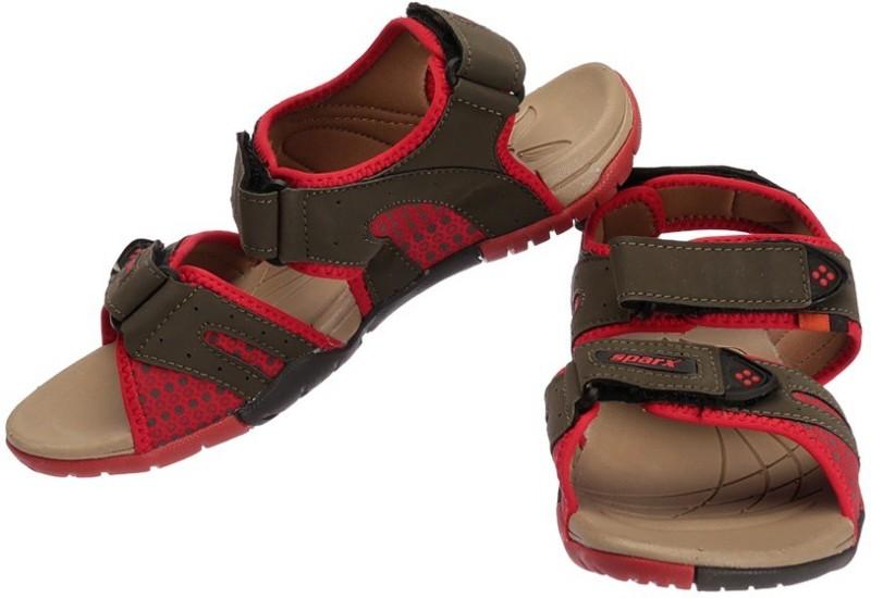 Sparx Women OliveRed Sports Sandals
