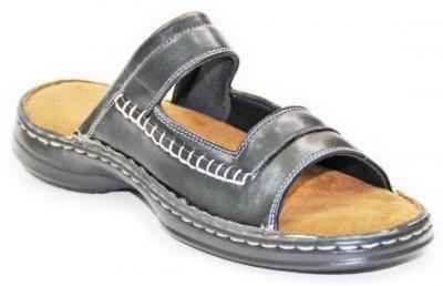 Dfut Men Black Sandals