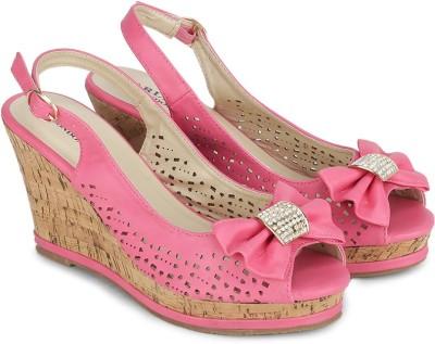 Carlton London Women Pink Wedges
