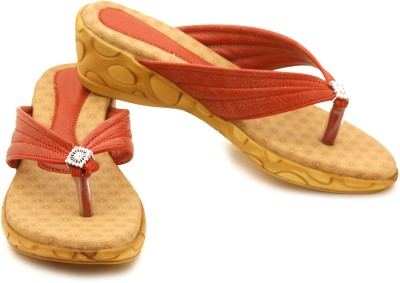 Canvera Women Red Wedges