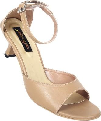 Walkaway Women Beige Heels