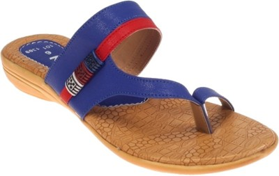 Rajdoot Women Blue Flats