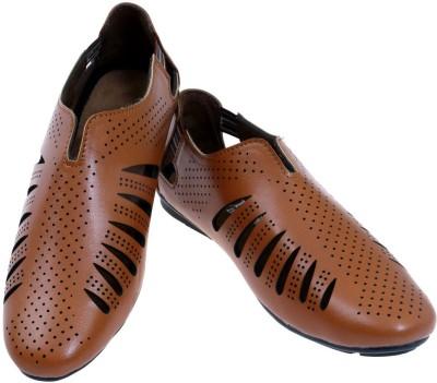 Fashion Bytes Men Tan Sandals