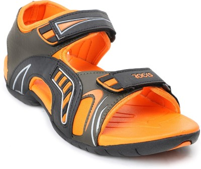 Welcome Men Black, Orange Sandals