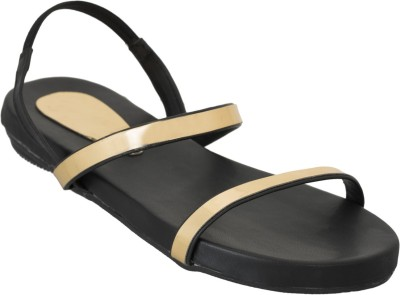 Advin England Women Black Flats