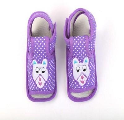 CHHOTE JANAB Baby Girls, Baby Boys Purple Flats