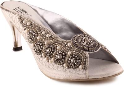 Addo Women Silver Heels