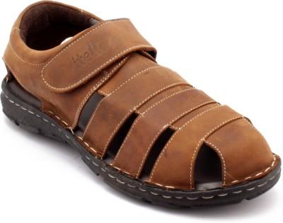 Vitello Men Brown Sandals