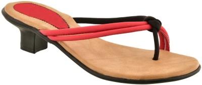 Versiliana Women Red, Black Heels