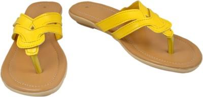 Walk N See Women Yellow Flats