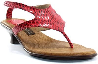 PAWAR Women Maroon Heels