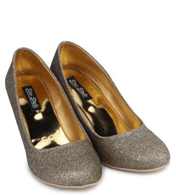 Star Style Women Grey Heels