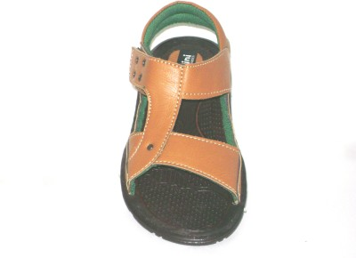 BAMBINI Boys Tan Sandals