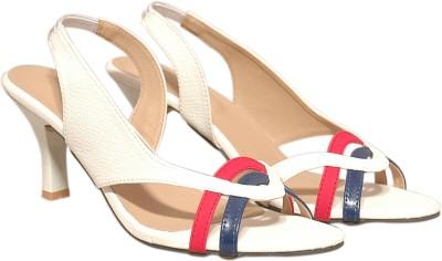 D&D Women White Heels
