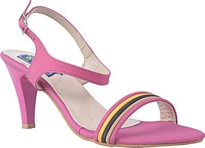 RELEXOP Women Pink Heels