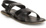 Turtle Men Black Sandals