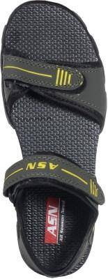 ASN Eplylw Women Yellow Sports Sandals