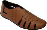 Leather Mart Men Brown Sandals
