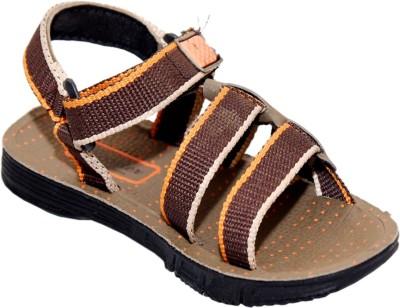 Calix Boys Brown Sandals