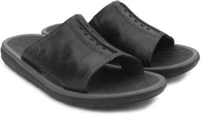 Clarks Kernick Shore Black Nubuck Men Black Sandals