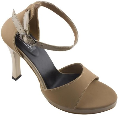 Mod-Inn Women Tan Heels