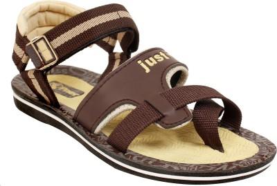 Sky Men Brown Sandals