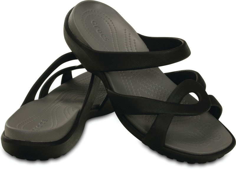 Crocs Women Black Sandals