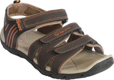 Goldstar Men Brown, Beige Sandals