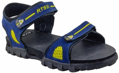 RTS Men Blue, Yellow Sandals