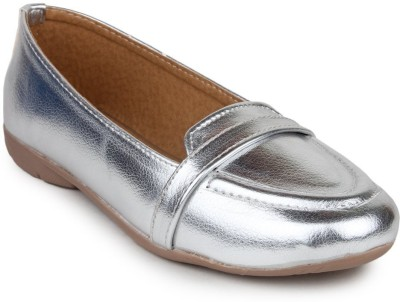 Shardha Creations Women Silver Flats