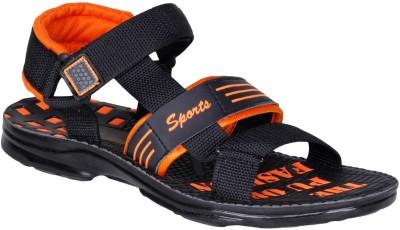 Knight Ace Men Black Sandals