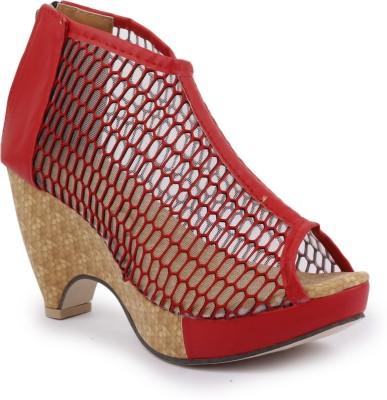 SBF Women Red Heels
